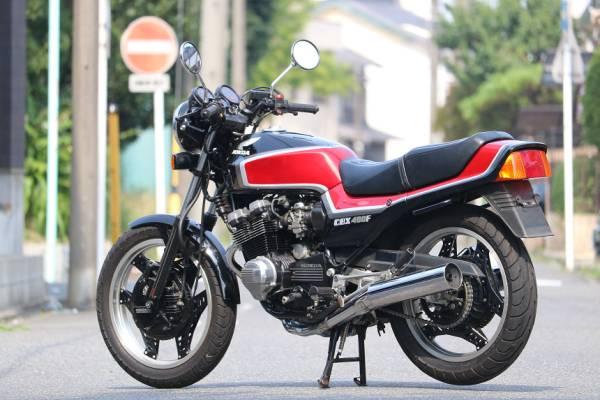 「昭和60年6月/CBX400FF/F2/フルオリジナル/フル2型/黒赤/フルノーマル/エンジン乗せ換えなし/超極上車/完璧なクオリティー/オートローン可能」の画像3