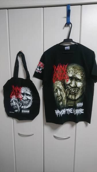 【美品】マキシマム ザ ホルモン 耳噛る廃盤特製 Tシャツ ライブグッズの画像