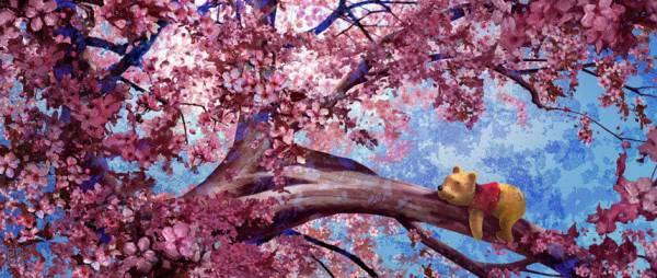Disney Fine Art ディズニーファインアート クマのプーさん 限定 レア ディズニーグッズの画像