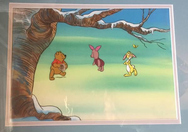 ディズニー クマのプーさん 原画 セル画 限定 レア Disney ディズニーグッズの画像