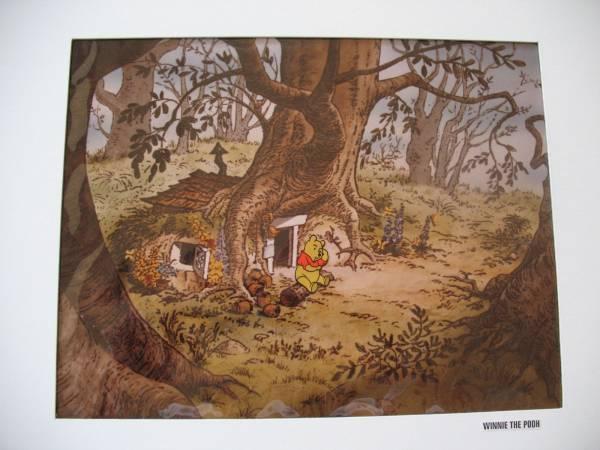 ディズニー クマのプーさん 原画 セル画 限定 レア Disney 入手困難 ディズニーグッズの画像