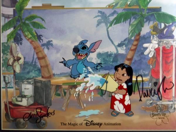 ディズニー リロアンドスティッチ 原画 セル画 限定 レア Disney 入手困難