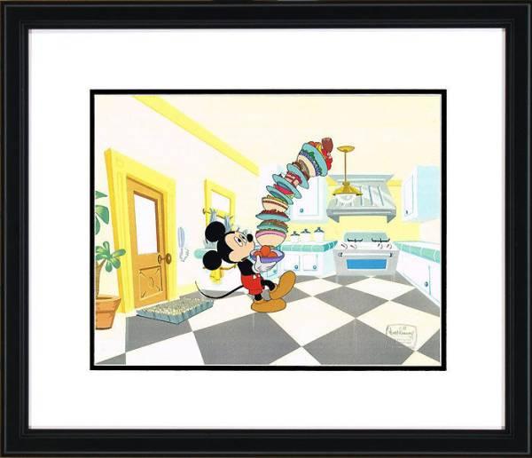 ディズニー ミッキーマウス 原画 セル画 限定 レア Disney 入手困難 Mickey Mouse Works_画像1