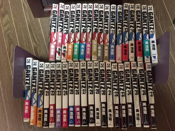 GANTZ ガンツ 全37巻セット 中古 ヤングジャンプコミック グッズの画像