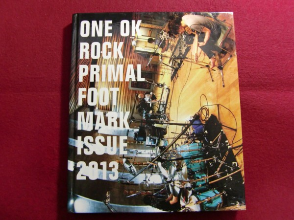 ▲ONE OK ROCK ワンオクロック PRIMAL FOOT MARK ISSUE 2013