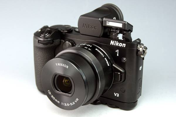 【Wi-Fi機能】ニコン Nikon 1 V3 プレミアムキット★予備バッテリー付き