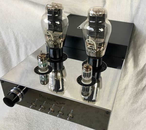 AUDION SILVER NIGHT 300Bシングル 入力セレクタ付 高感度 パワーアンプ オーディオン シルバーナイト 6922 6DJ8 5687 WE300B使用可能