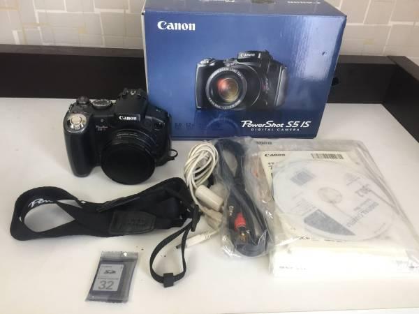 難あり Canon PowerShot S5 IS デジカメ H73