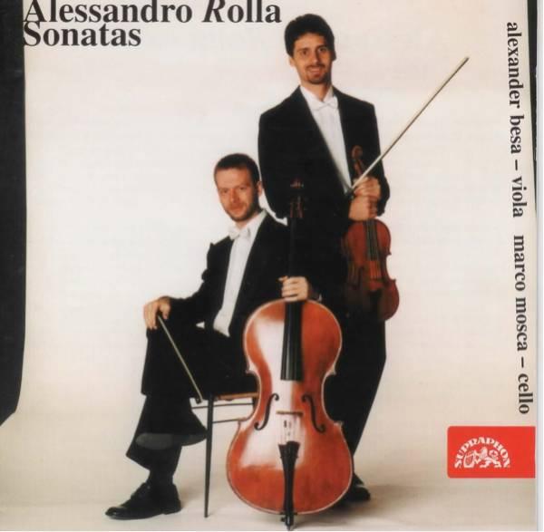 アレッサンドロ・ロッラ ヴィオラとチェロのためのソナタ アレキサンダー・ベサ(ヴィオラ)
