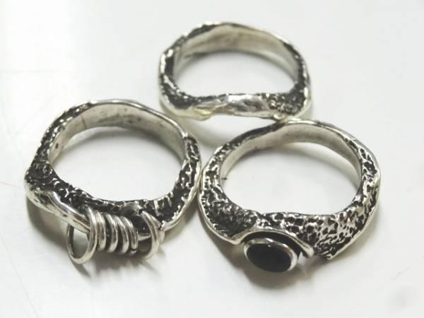 Taujan/タウジャン リング 指輪 3連 シルバー 158-0102 サイズ14号 メンズ レディース