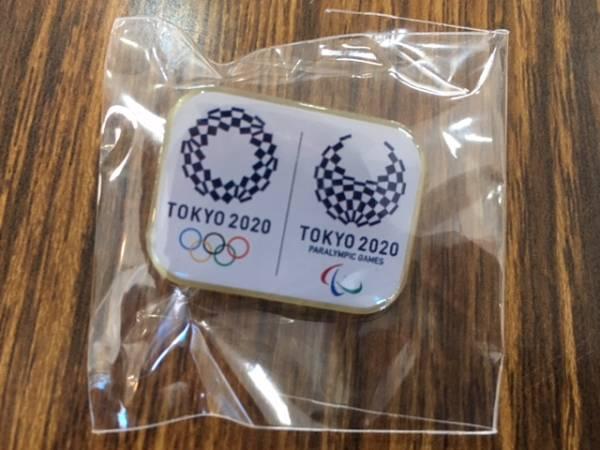 新品未使用 2020年東京オリンピック・パラリンピックピンバッジ ☆送料無料