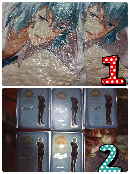 明治東亰恋伽 めいこい 岩崎桃介 缶バッジ ラバスト クッション AGF ハイカラ グッズの画像
