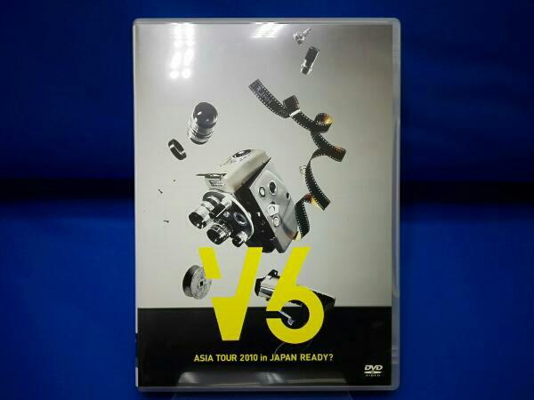 V6 ASIA TOUR 2010 in JAPAN READY? コンサートグッズの画像