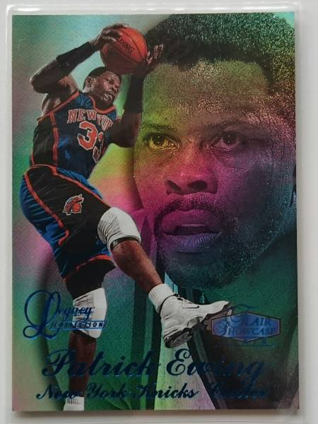 NBA PATRICK EWING 97-98 Flair Showcase Legacy Collection Row3 Flair #/100 グッズの画像