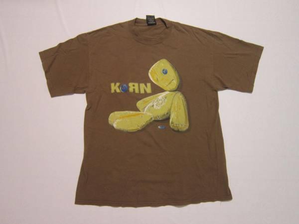 """☆90s Korn/コーン """"ISSUES"""" Tシャツ GIANT製 サイズ XL $469"""