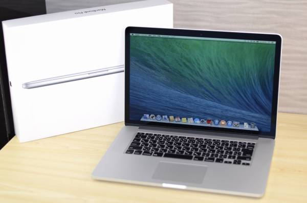 MacbookPro【Retina, 15-inch,16GB,SSD512,Late 2013,ME294J】美品ノートパソコン_画像1