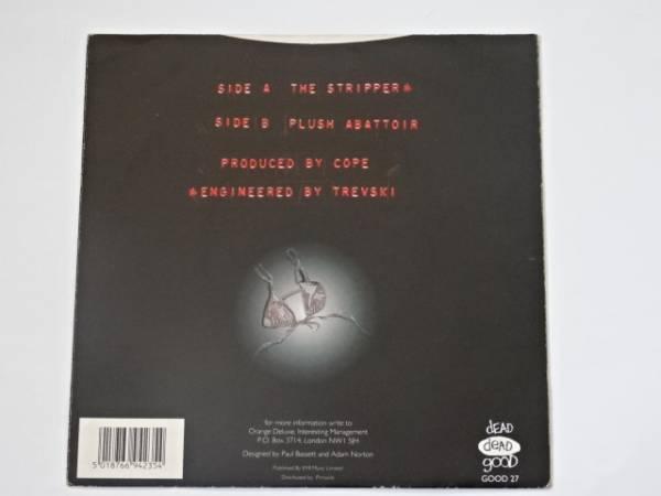 "7"" / ORANGE DELUXE / THE STRIPPER / PLUSH ABATTOIR / 7inch盤は国内極めて入手難 / 1994年盤 / GOOD 27 / UK盤 / 試聴検査済み_画像2"