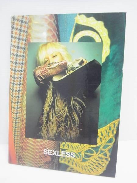 清春 写真集 SEXLESS FASHION PHOTO BOOK サイン入り 黒夢