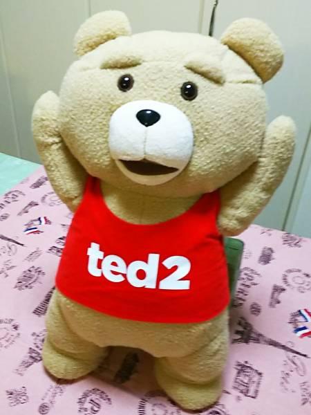 【ted2】バンザイぬいぐるみXLプレミアム グッズの画像