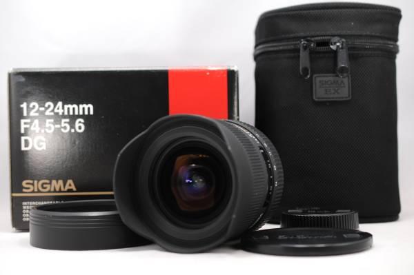 SIGMA シグマ 12-24mm F4.5-5.6 EX DG HSM NIKON ニコン用 #753
