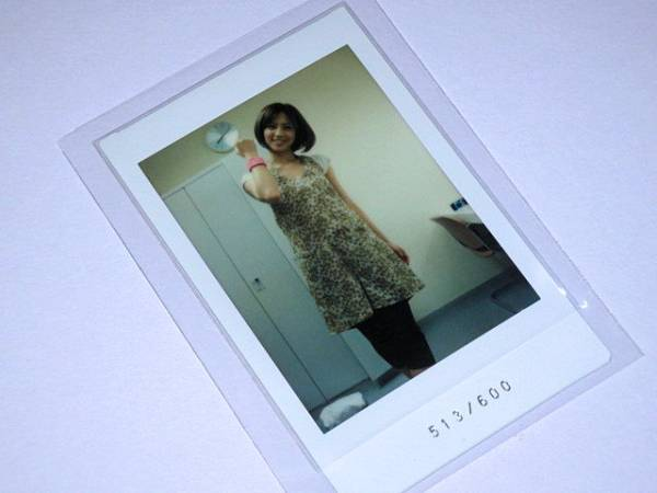 さくら堂 安田美沙子「M」1of1 生チェキ 513/600 グッズの画像