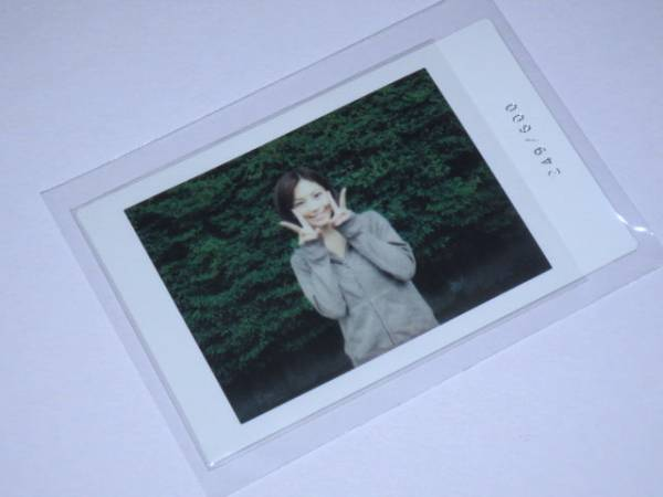 さくら堂 安田美沙子「M」1of1 生チェキ 249/600 グッズの画像