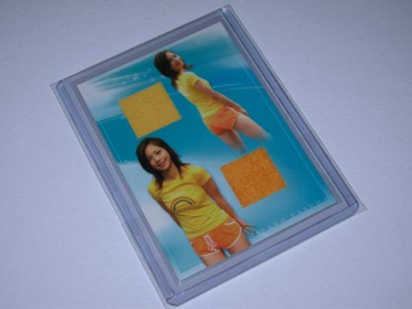 エトワール 安田美沙子 ダブルコスチュームカード1 52/95 グッズの画像