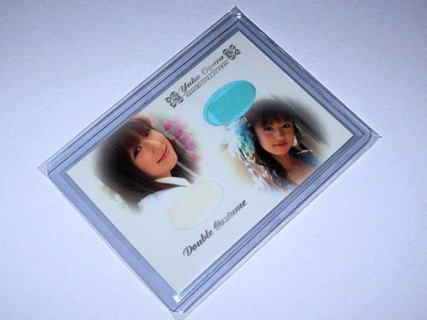 IMAGIO 小倉優子 ダブルコスチュームカード DCos-003 80/96 グッズの画像