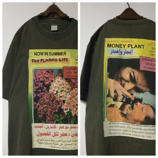 1994年 オリジナル ヴィンテージ THE FLAMING LIPS フレーミングリップス Tシャツ ( USA製 XL ) フレミン オルタナティブ ロック