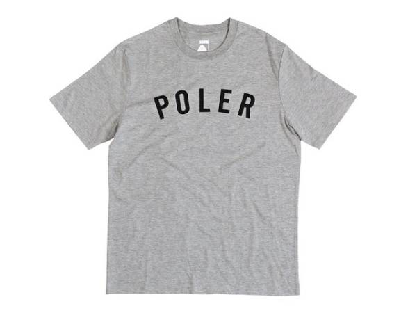 ☆sale/新品/正規品/特価 POLER STATE S/S TEE / Size-L / Color-Charcoal / ポーラ / Tシャツ_画像1
