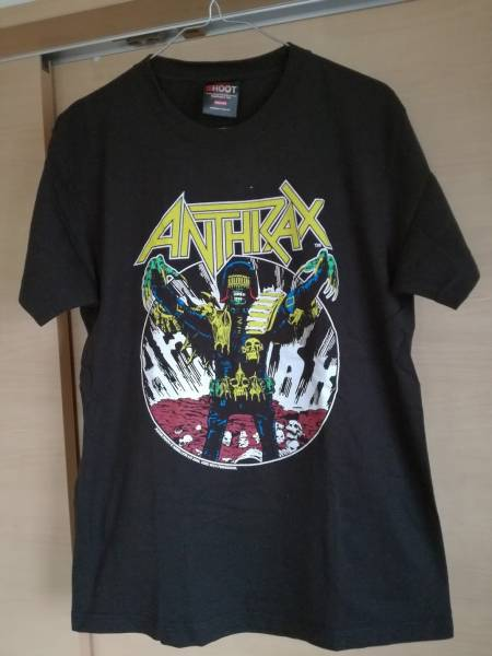 ANTHRAX Tシャツ PANTERA BRUTAL TRUTH NUCLEAR ASSAULT MEGADETH S.O.D COCOBAT METALLICA SUPREME Sepultura SLAYER OUTRAGE GUNS ライブグッズの画像