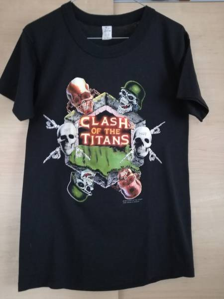 SLAYER ANTHRAX MEGADETH Alice in chains Clash of the Titans tour TシャツPANTERA COCOBAT METALLICA SUPREME Sepultura Fear of god