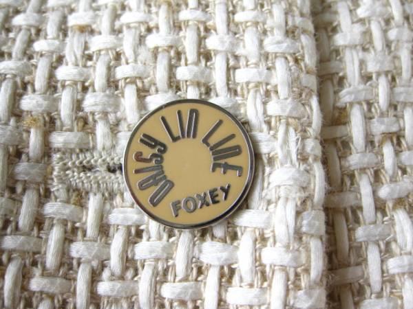 新品同様  FOXEY フォクシー 最高級MIX糸のツイードジャケット☆40サイズ ベージュ_画像3