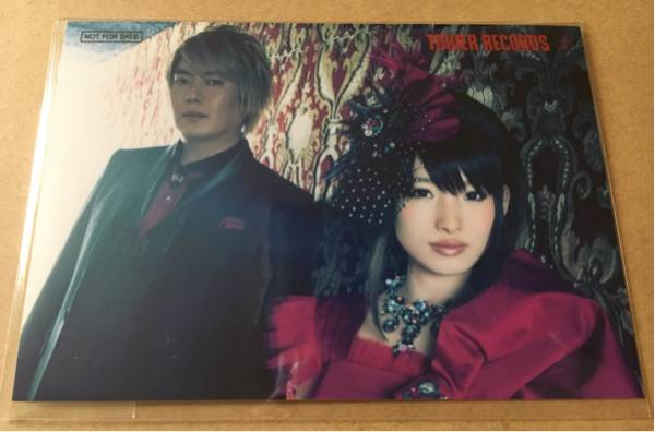 fripSide 南條愛乃 八木沼悟志 CD black bullet タワーレコード 特典 ブロマイド 生写真