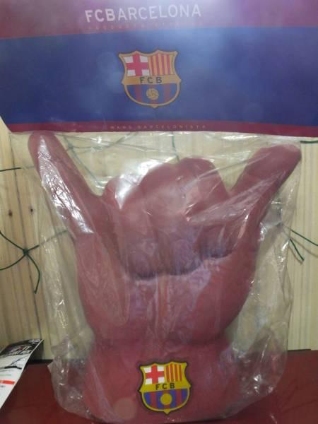 FCバルセロナ ロナウジーニョハンド グッズの画像