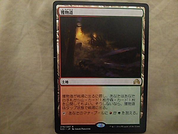 獲物道/Game Trail 日本語 折れあり_画像1