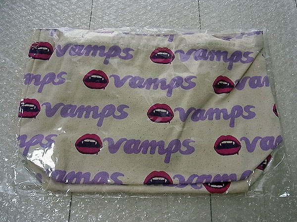 G3/VAMPS オリジナルランチバッグ ホワイト/パープルver 新品 /L'Arc-en-Ciel HYDE ラルクアンシエル