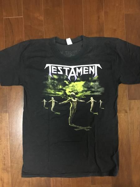 ビンテージ スペシャル 激レア ロックTシャツ TESTAMENT テスタメント 正規品 オリジナル 本物 1990年 tour バンドTシャツ メタリカ ライブグッズの画像