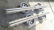 即決無し 売切 アルミ アンカー レール 固定 セット 中古 BP 自動車 鈑金 板金 修正 修正機 寸法形状は注視熟読! アルミ製 アルミアンカー