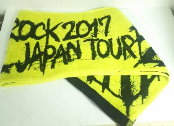 ONE OK ROCK Ambitions 2017 ツアー グッズ マフラータオル YELLOW 黄色