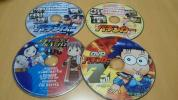 ☆パチンコ DVD4枚 (漫画パチンカー2017年7、8月号 、クイーンズBATTLE、漫画パチンカーZ vol.11)☆