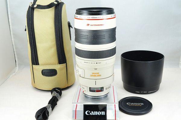 ★1円~★キヤノン CANON EF 100-400mm F4.5-5.6 L IS USM ケース付き