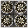 美品 BBS RG714 LM RS レガシー プリウス SUBARU インプレッサ 検RAYS レイズ