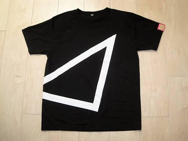 パフューム Perfume ツアーTシャツ 2009 直角二等辺三角形 TOUR トライアングル サイズM ライブグッズの画像