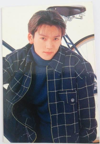 ジャニーズ V6 長野博さん 写真カード