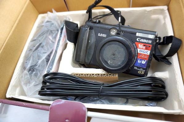 ■ 中古 Canon キヤノン PowerShot G5 コンデジ デジタル カメラ 機器 パワーショット
