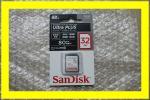 SanDisk SDカード Ultra Plus 32GB SDSDUSC-032G-JNJIN 新品 未開封 CLASS10 サンディスク ウルトラプラス SDHC UHS-I 無期限保証