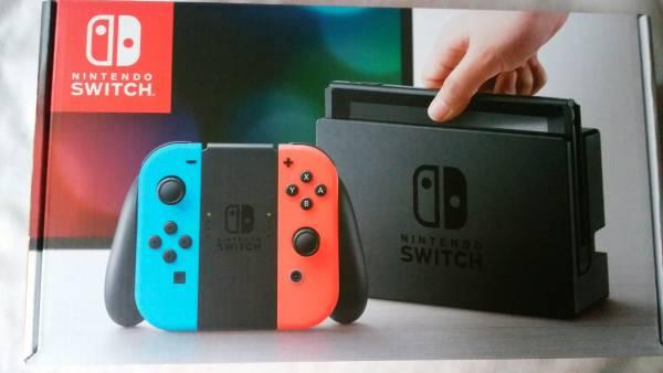 ★ 新品未開封品 Nintendo Switch 【本体】 ネオンブルー ネオンレッド ニンテンドー スイッチ 任天堂Switch おまけつき ♪ ★