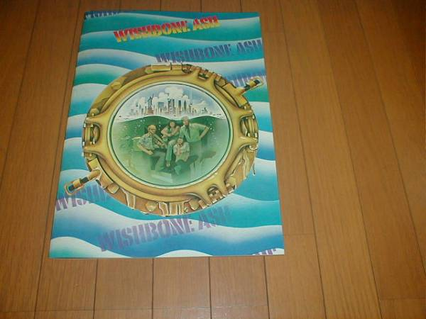 ツアーパンフ 1976年 WISHBONE ASH ウイッシュボーン・アッシュ 検索(来日公演 コンサート パンフレット ヘビメタ ハードロック)
