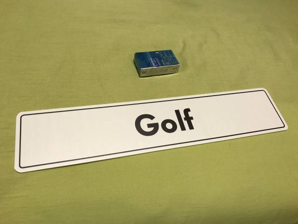 VW ゴルフ フォルクスワーゲン ディーラープレート  ユーロサイズ ゴルフ1 ゴルフ2 ゴルフ3 ゴルフ4 ゴルフ5 ゴルフ6 ゴルフ7 USDM EURO_画像1